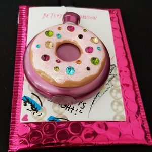 1 hour sale Betsey Johnson donut flask